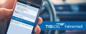 TISLOG Fahrermail   Logistiksoftware