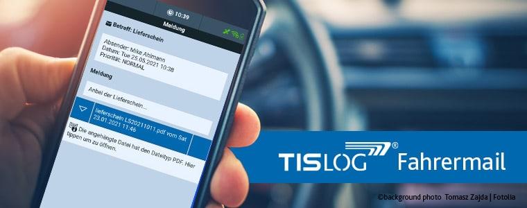 TISLOG Fahrermail | Logistiksoftware