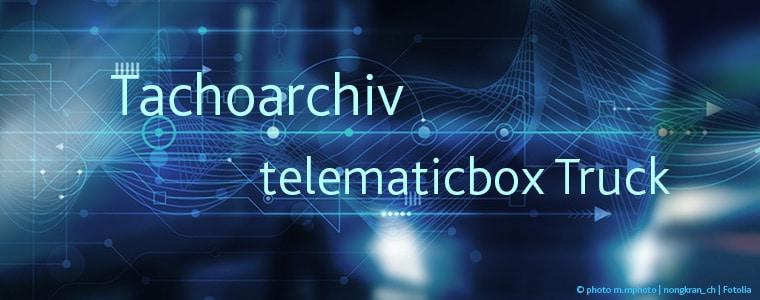 Tachoarchiv | TISLOG | telematicbox Truck