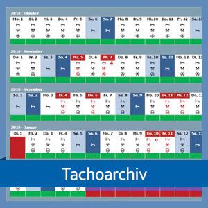 Tachoarchiv | TISLOG | Logistiksoftware