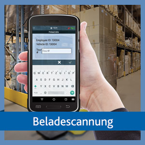 Beladescannung in der TISLOG Logistik-Software