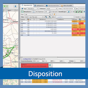 Disposition in der TISLOG Logistik-Software