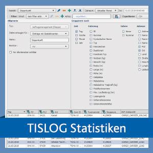 Statistiken in der TISLOG Logistik-Software