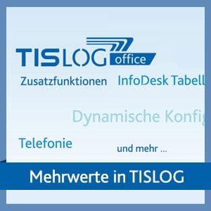 Nützliche Zusatzfunktionen in der TISLOG Logistik-Software