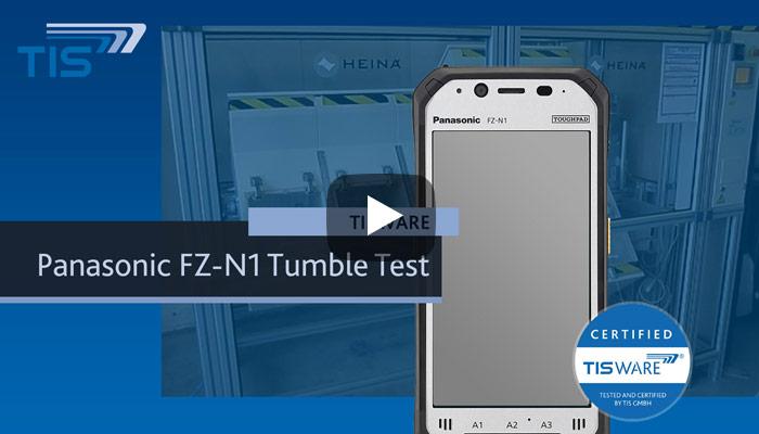 Tumble Test Panasonic FZ-N1   TISWARE Logistikhardware