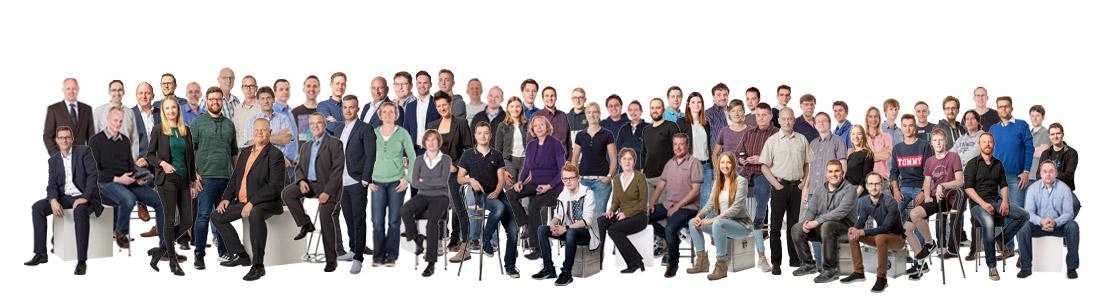 Team der TIS GmbH in Bocholt | Telematik und IT