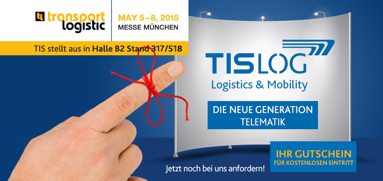 TIS GmbH auf der transport logistic 2015