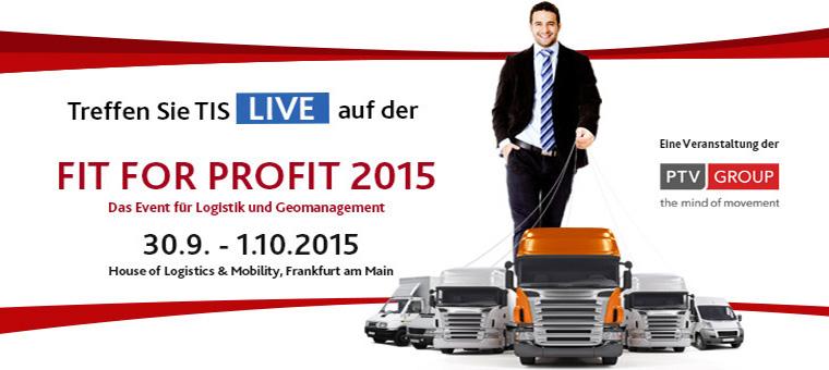 Logistikkongress der PTV Group Fit For Profit 2015 | TIS GmbH