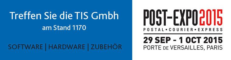 TIS GmbH auf der Post-Expo 2015