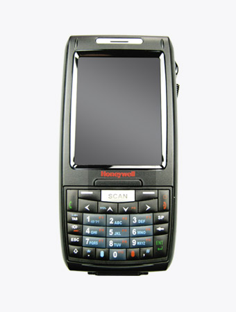 TISWARE Logistik Hardware: Industrie-Handheld Honeywell Dolphin 7800 frontal