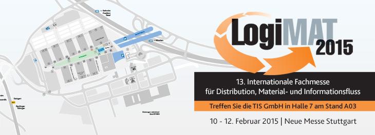 Treffen Sie Telematikanbieter TIS GmbH auf der Logimat 2015