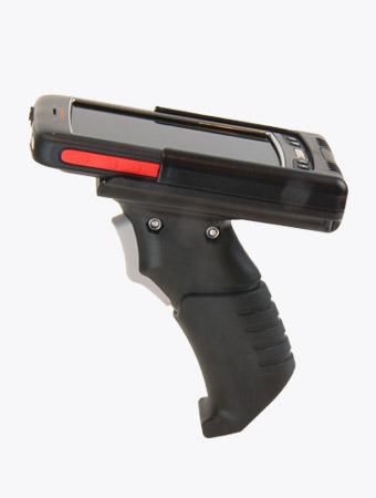 TISPLUS Hardware-Zubehör: Scan-Handle für Handhelds der Reihe Dolphin 70E/75E - Seitenansicht