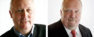 Josef Bielefeld und Peter Giesekus - Geschäftsführer der TIS GmbH