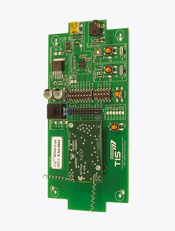 TISPLUS Hardware Zubehör für die Logistik: MD40 Evaluation Board für das DECT MD40-Modul