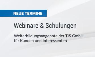 Webinare und Schulungen für unsere Speditionssoftware und Logistiksoftware bei der TIS GmbH