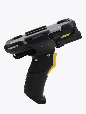 TISPLUS Hardware Zubehör für die Logistik: Trigger Handle für Handheld Zebra TC70/75 Seitenansicht