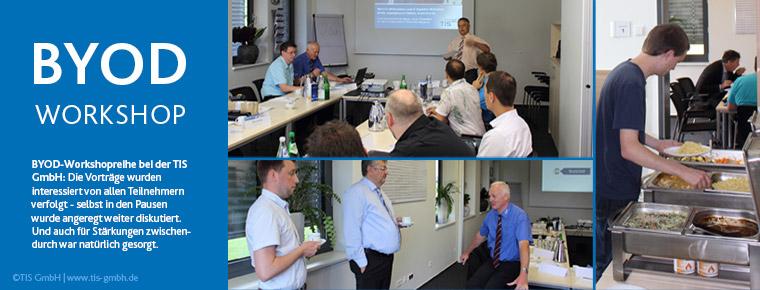 BYOD Workshop-Reihe bei Telematikanbieter TIS GmbH