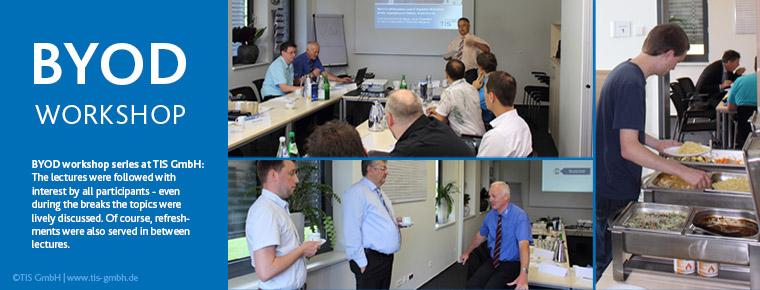 BYOD workshop series at telematics provider TIS GmbH