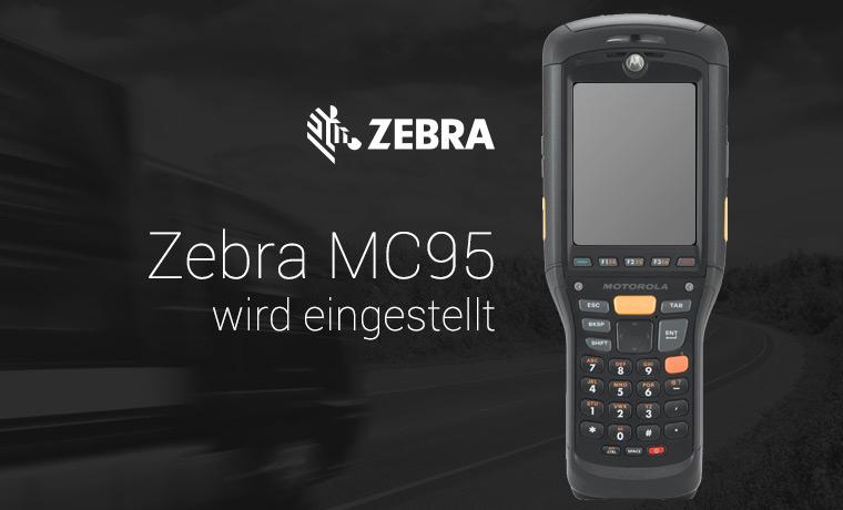 Motorola MC95 (seit 2015 Zebra MC95) von Zebra abgekündigt