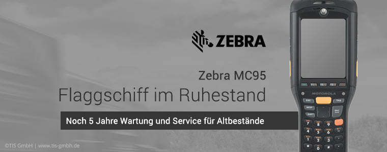 Motorola MC95 (seit 2015 Zebra MC95) von Zebra eingestellt