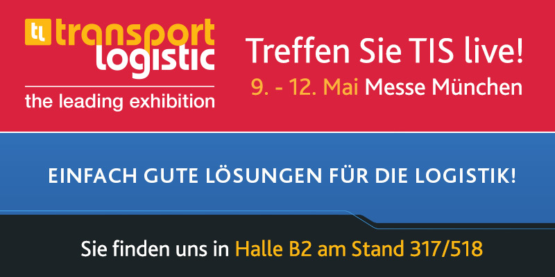 Treffen Sie Telematikanbieter TIS GmbH auf der transport logistic 2017