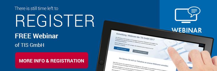 Free Webinar of telematics provider TIS GmbH