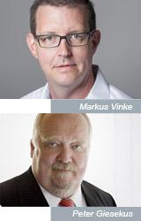 Markus Vinke, Peter Giesekus - Geschäftsführer TIS GmbH