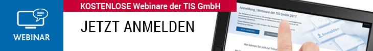 Webinare bei der TIS GmbH