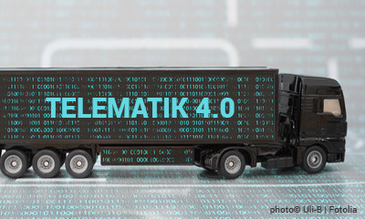 Telematik 4.0 im Transport