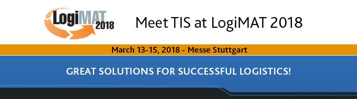 Meet TIS at LogiMAT 2018
