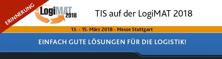 Treffen Sie TIS auf der LogiMAT 2018